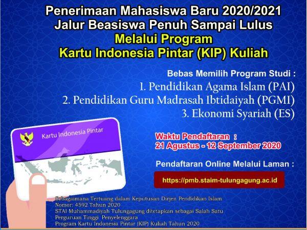 Informasi beasiswa KIP